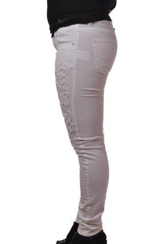 Femme Blanc Pantalon pantalon Latinò 4824802f184442 qUPOXxw