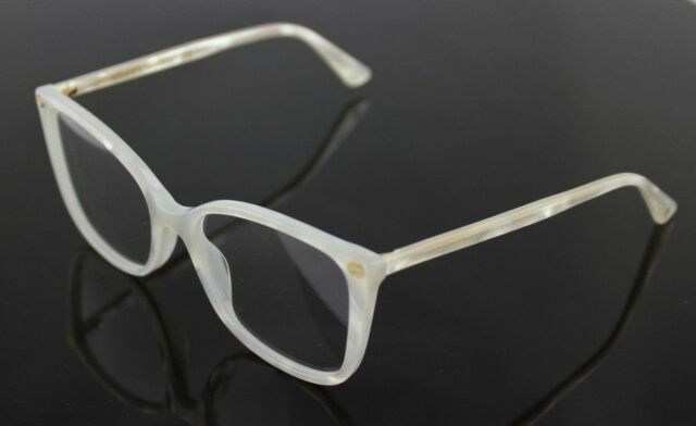f602b66eccb NEW Authentic GUCCI Womens White Marble Square Eye Glasses Frame GG0026O  003 26O