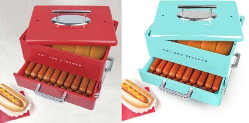 Hot Dog Steamer Compact Portable Kitchen Party Health Sausage Bun Electric Retro