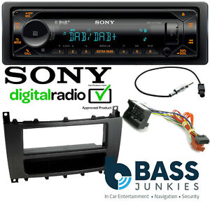 Details About Mercedes Benz Vito W639 Sony Dab Cd Mp3 Usb Aux Bluetooth Car Stereo Fitting Kit