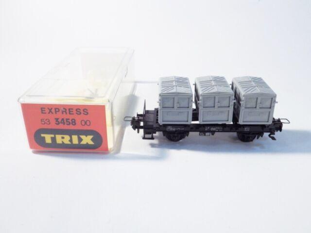 H0 52 3666 00 Behältertragwagen Lbs DB OVP MR1324 Trix Int