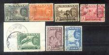 Malaya Malaysia 1961 Selangor State Complete Set