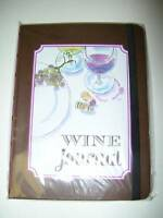 Formation Brands Wine Story Journal Hardcover Book Tasting Stocking Stuffer