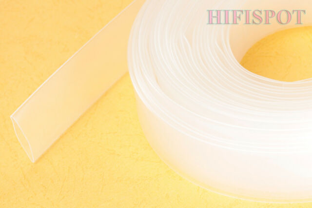 26ft Heat Shrink Tube Tubing 11mm Clear Shrinkage ratio: 50% 2:1