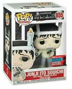 Funko Anime Pop Vinyl Junji Ito Souichi NYCC Shared Exclusive Pristine Pop & Box