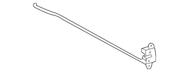Toyota Tacoma Tailgate Parts Diagram Schematic Diagrams