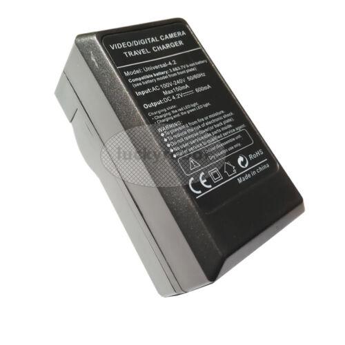 TG-5 Batería Cargador de pared y automóvil para Olympus Tough TG-1 TG-2 TG-3