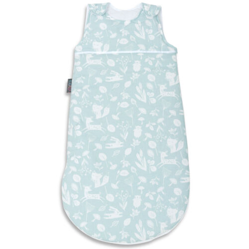 Baby Sleeping Bag Baby Shower Gift Newborn Sleeping Bag 100/% Cotton Mint Forest