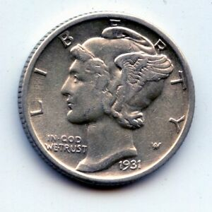 1931-p Mercury dime  (SEE PROMO)