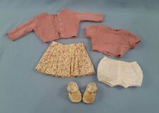 American Girl Doll Kit Meet Outfit Retired Lavender Sweater Skirt MINT CONDITION