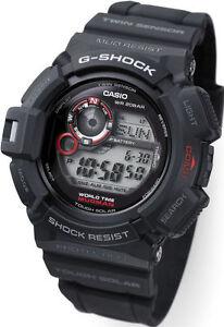 Casio-G-Shock-Mens-Wrist-Watch-Mudman-G9300-1-G-9300-1-Digital-Black