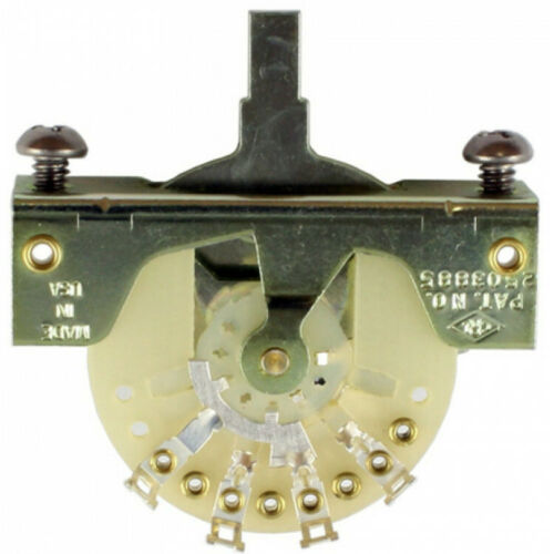 NEW USA Fender CRL 3 WAY POSITION SWITCH for Strat Tele Telecaster EP-0075-000