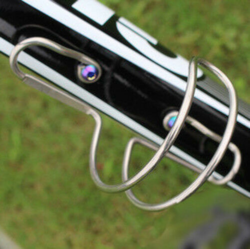 Titanium Bike Water Bottle Cage Kettle Holder MTB Bicycle Cycling Outdoor