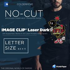 Neenah Paper Image Clip Laser Dark Heat Transfer Paper 85x11 100 Sheets