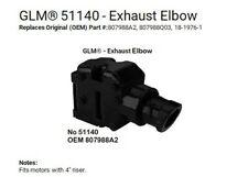 GLM 30240 Exhaust Riser Elbow Gasket Restricted Flow Replace Mercruiser V6 V8