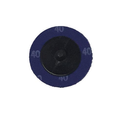 """25-2/"""" Roloc Zirconia Quick Change Sanding Disc 40 Grit and Mandrel Disc Holder"""