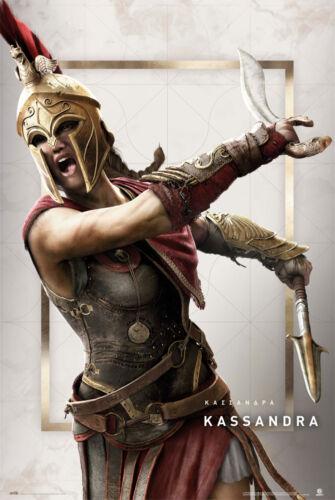 Poster Assassins Creed Odyssey Kassandra