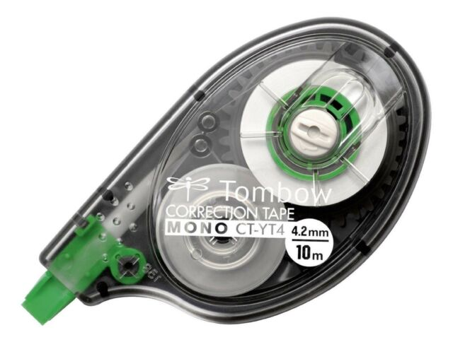 TOMBOW Ersatz Nachfüll Refill-Kassette für Korrekturroller MONO YXE 4,2mm x 16 m