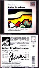 Stanislaw SKROWACZEWSKI Signiert BRUCKNER Symphony No.1 Arte Nova CD Sinfonie