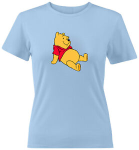 Disney-Winnie-the-Pooh-Bear-Classic-Cartoon-Girls-Juniors-Women-Tee-T-Shirt-S-2X