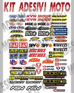 ADESIVI-MOTO-SPONSOR-73-Pz-Sticker-Motocross-Grafiche-Bici-Mtb-Computer-Motorino