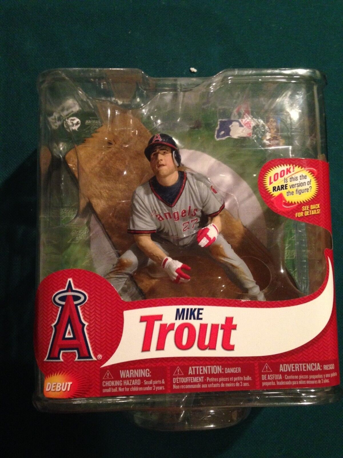 Mike Trout Collector's Club Exclusive McFarlane Production Sample RARE