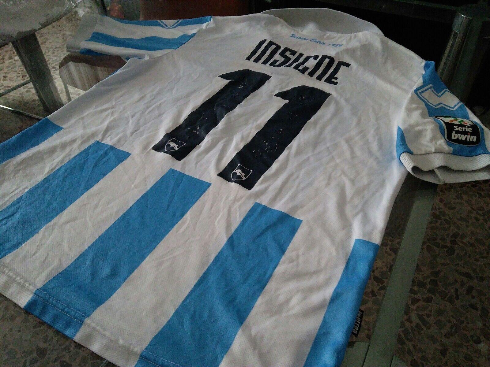 Maglia Pescara  11 Insigne 201112 Shirt trikot maillot Napoli