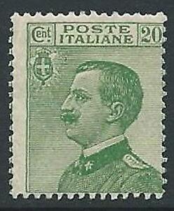 1925-REGNO-EFFIGIE-20-CENT-VERDE-MNH-M5