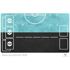 Pokemon Gym Playmat 2-Tone Teal - Pokemon Play Mat (PL0135)
