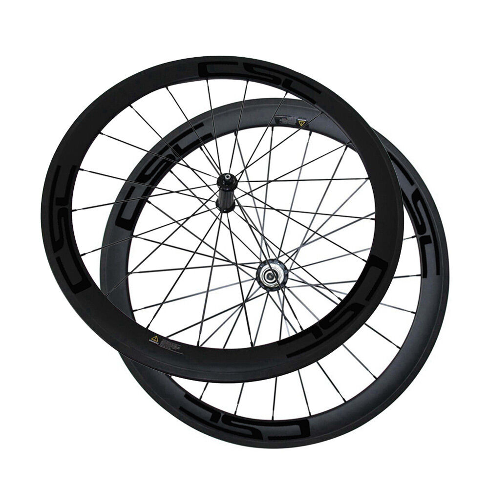 CSC  Straight pull R36 hub 50mm Tubular carbon bike wheels  23mm 25mm Width  quality assurance