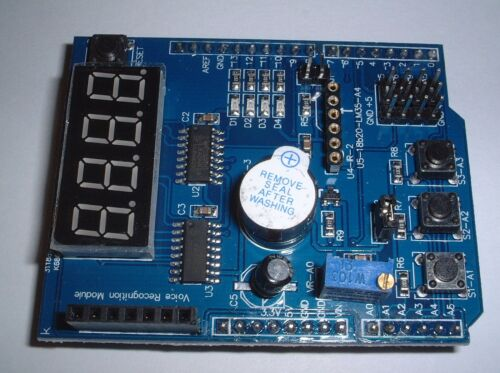 4 Digital Multi-function Shield Expansion Board For Arduino UK stock