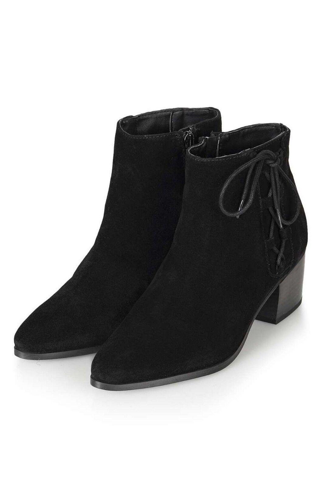 Topshop Camoscio Stivali di Cuoio Delle Donne con Laterali Ghillie Ghillie Ghillie Dettaglio | Acquisti online  | Uomo/Donna Scarpa  81e8e6