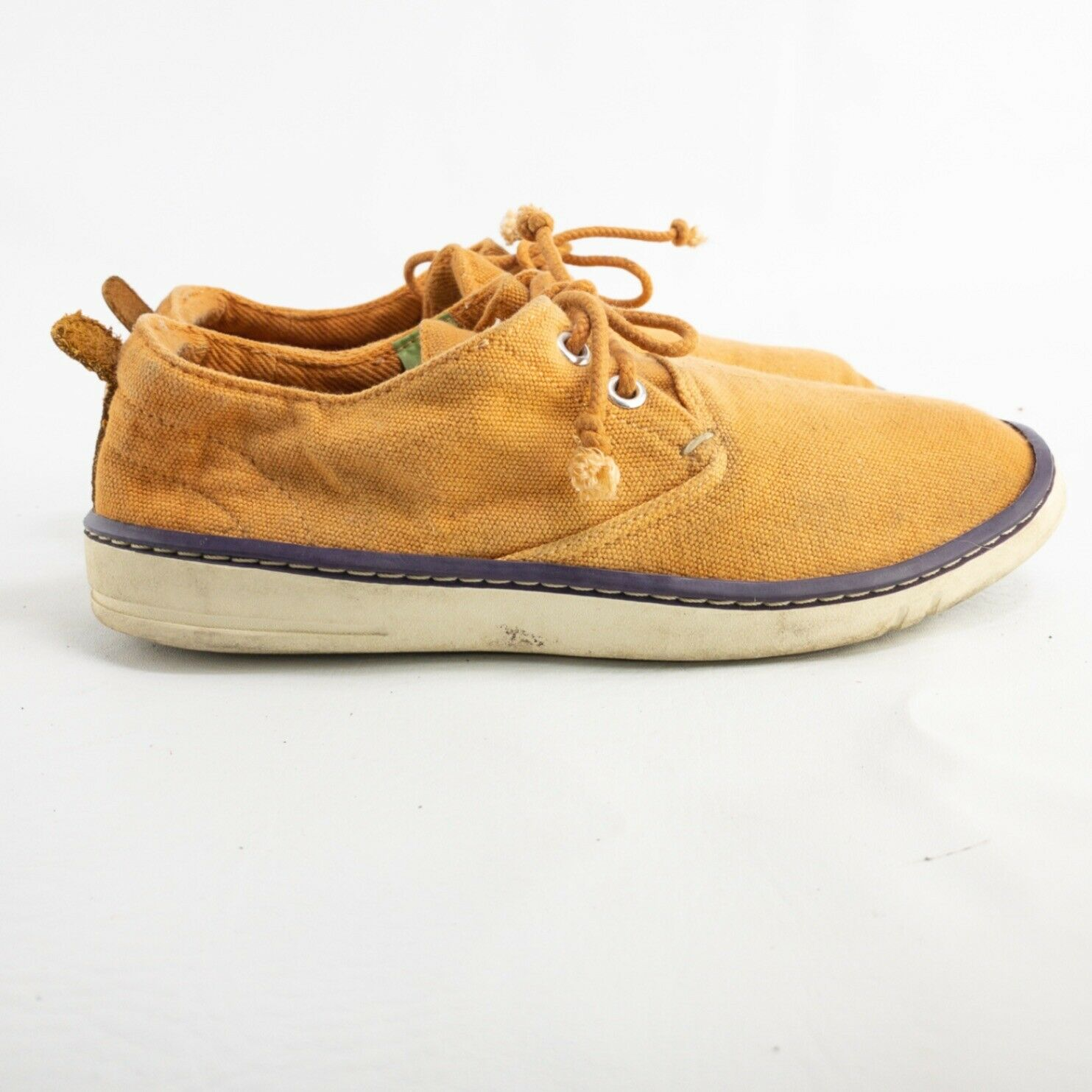 Timberland Earthkeepers Womens Orange Round Toe Lace Up Sneaker Shoes Size 6.5 M