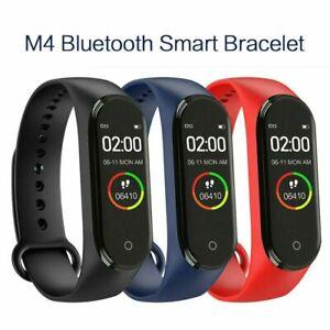 M4 Smart Watch Armband Puls Blutdruck Monitor Tracker Fitnessarmband
