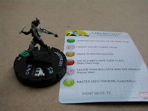 Nr-029-LADY-BULLSEYE-CARD-MARVEL-HEROCLIX