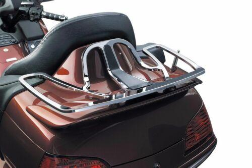 Kuryakyn Chrome Tour Pack Rear Trunk Luggage Bag Rack Honda GL1800 Gold Wing GL