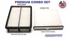 AF6280 C38175 ENGINE & CABIN AIR FILTER COMBO SET for 2014 - 2016 MAZDA 3 6 CX-5