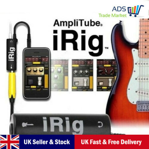 iRig Guitar Interface Guitar For iPhone iPod iPad With Retail Box