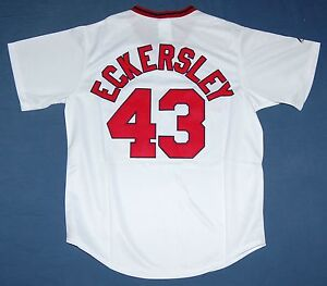 Image is loading BOSTON-RED-SOX-DENNIS-ECKERSLEY-COOPERSTOWN-SEWN-JERSEY- 8c39eb85745