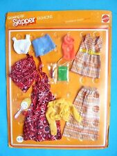 "VINTAGE SKIPPER GROWING UP FASHION ""DELUXE SET"" (1975) NRFB NFRP"