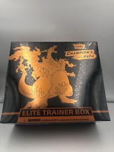 Pokémon Trading Card Game: Champion's Path Elite Trainer Box Fast Shipping