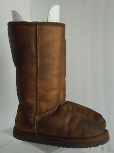 classic tall metallic ugg boots