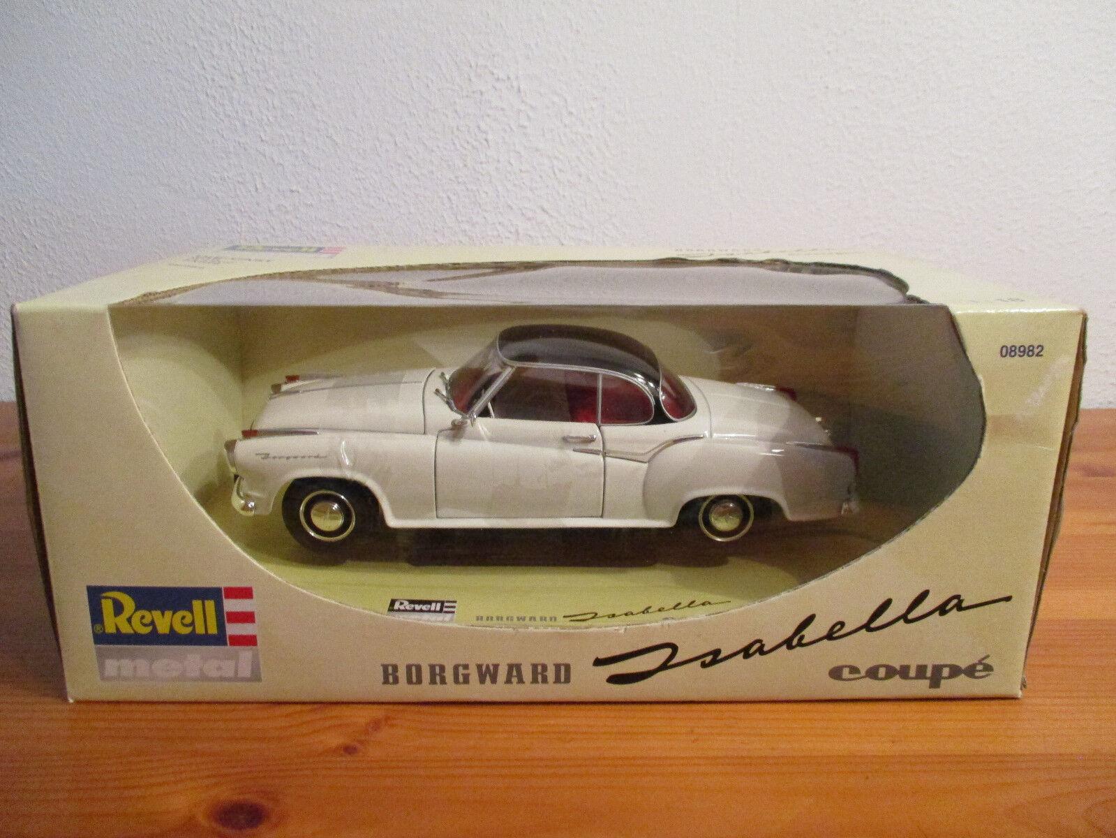 (go) 1 18 Revell borgwerd Isabella Coupe nuevo en el embalaje original