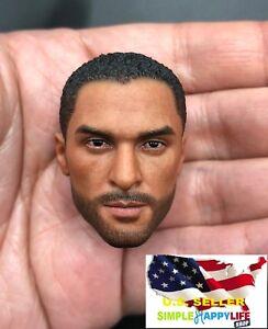 "1//6 man head sculpt soldier C for 12/"" figure hot toys phicen ganghood ❶USA❶"