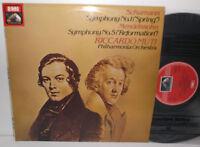 ASD 3781 Schumann Symphony No. 1 & Mendelssohn Symphony No. 5 Philharmonia Muti