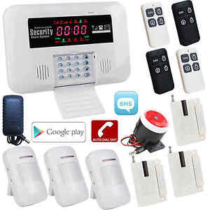 Bl Android App Gsm Wireless Wired Home Security Alarm