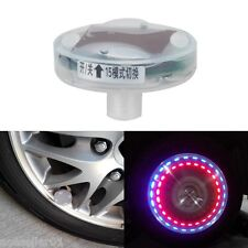 Car Bike Motorcycle Decoration LED Flash Solar Wheel Tire Tyre Valve Cap Light