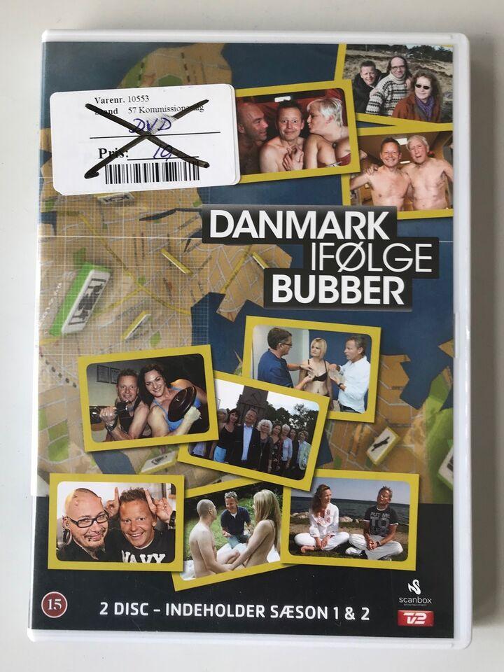 Danmark ifølge Bubber, DVD, TV-serier