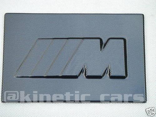 BMW Carbon fibre effect battery cover Mtec E36 E46 E39