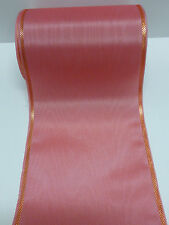 1Rollen Moiré Kranzschleifenband  Kranzband flamingo 15 cm